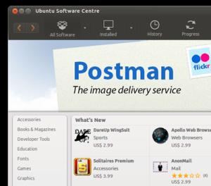 Магазин приложений Ubuntu Software Center