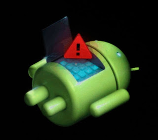 Android Boot Error