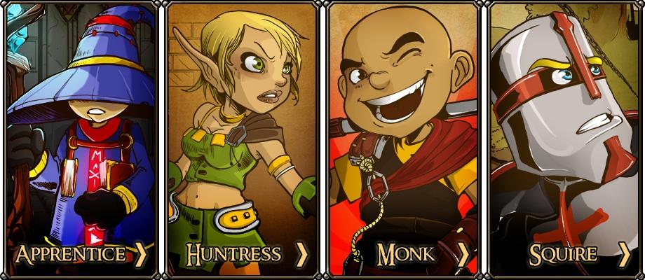 Dungeon Defenders hero