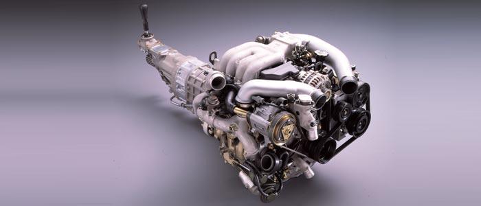 2rotor 13b-rew twin-turbo engine