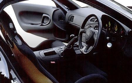 Efini RX-7 Type-RZ Interior