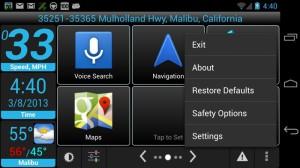 Car dashboard для Android